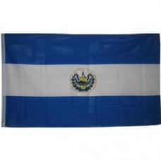 El Salvador 3 feet X 5 feet polyester flag
