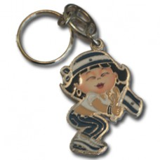 El Salvador Large Girl key ring