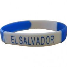 El Salvador Silicon Bracelet
