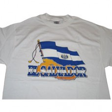 EXTRA LARGE El Salvador T-Shirt