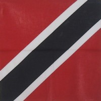 Trinidad And Tobago 100% Cotton Bandana
