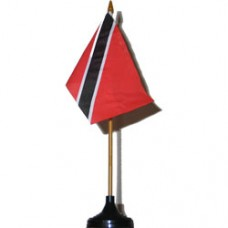 Trinidad and Tobago 4 X 6 inch desk flag