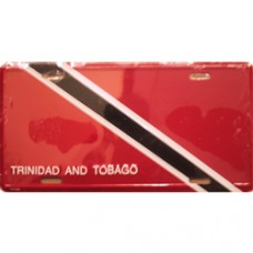 Trinidad And Tobago License Plate