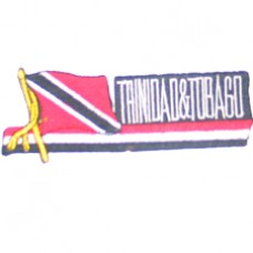 Trinidad & Tobago 4.4 inch X 1.5 inch patch