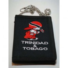 Trinidad and Tobago Velcro wallet w/ chain