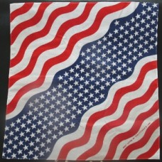 U. S. A. New Wavy 100% Cotton Bandana
