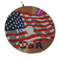 USA, United States, U.S.A. flag CD