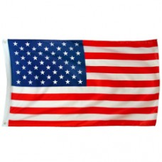 USA flag 3X5 feet polyester