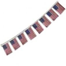 U.S.A. String Flag - 20 Flags
