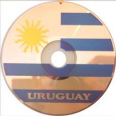 Uraguay flag CD