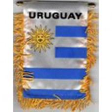 Uruguay flag mini banner