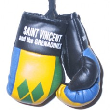 St. Vincent And The Grenadines mini boxing gloves
