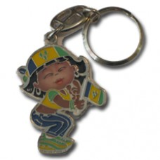 St. Vincent and the Grenadines Large Girl key ring