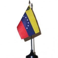Venezuela 4 X 6 inch desk flag