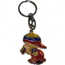 Venezuela flag boy key ring