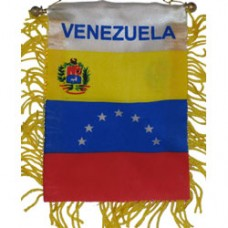 Venezuela flag mini banner