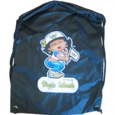 United States Virgin Islands girl back pack