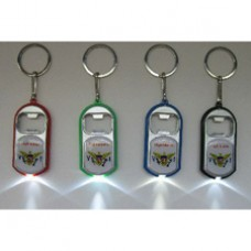 US V.I. Bottle Opener w/Light (Assorted Color)