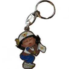U. S. Virgin Islands Large Girl key ring
