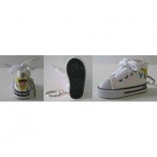 US Virgin Islands Sneaker Shoe Keyring