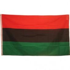 African American 2 feet X 3 feet polyester flag