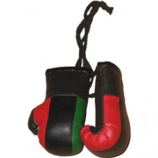 African American Flag Mini Boxing Gloves