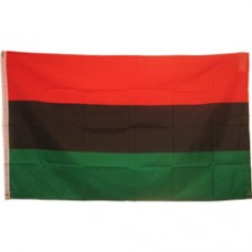 Afro, Pan, African American 3X5 polyester flag