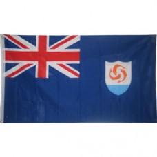 Anguilla 3 feet X 5 feet polyester flag