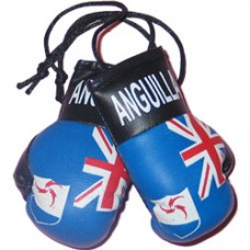 Anguilla Flag Mini Boxing Gloves
