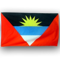 Antigua and Barbuda 2X3 feet polyester flag