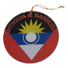 Antigua and Barbuda flag CD