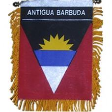 Antigua and Barbuda flag mini banner