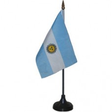 Argentina 4 X 6 inch desk flag