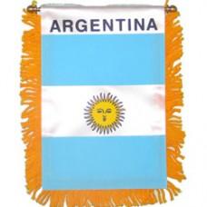 Argentina flag mini banner