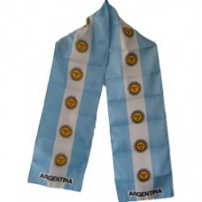 Argentina flag scarf