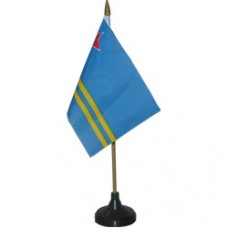 Aruba 4 X 6 inch desk flag