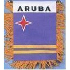 Aruba flag mini banner