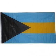 Bahamas 3 feet X 5 feet polyester flag