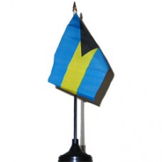 Bahamas 4 X 6 inch desk flag