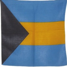 Bahamas flag Bandana or Bandanna
