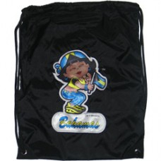 Bahamas flag girl back pack