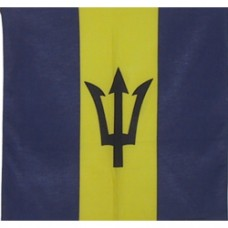 Barbados flag 100% Cotton Bandana