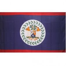 Belize 3 feet X 5 feet polyester flag