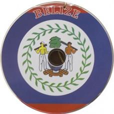 Belize flag CD