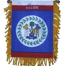 Belize flag Mini Banner