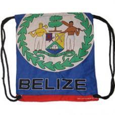 Belize flag back pack