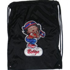 Belize flag girl back pack