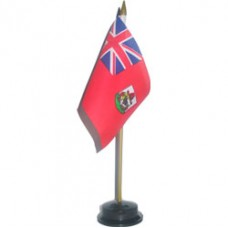 Bermuda 4 X 6 inch desk flag