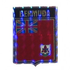Bermuda flag 4 inch X 3 inch decal