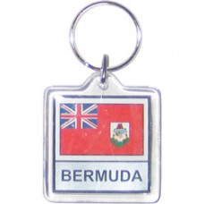 Bermuda flag Square key ring